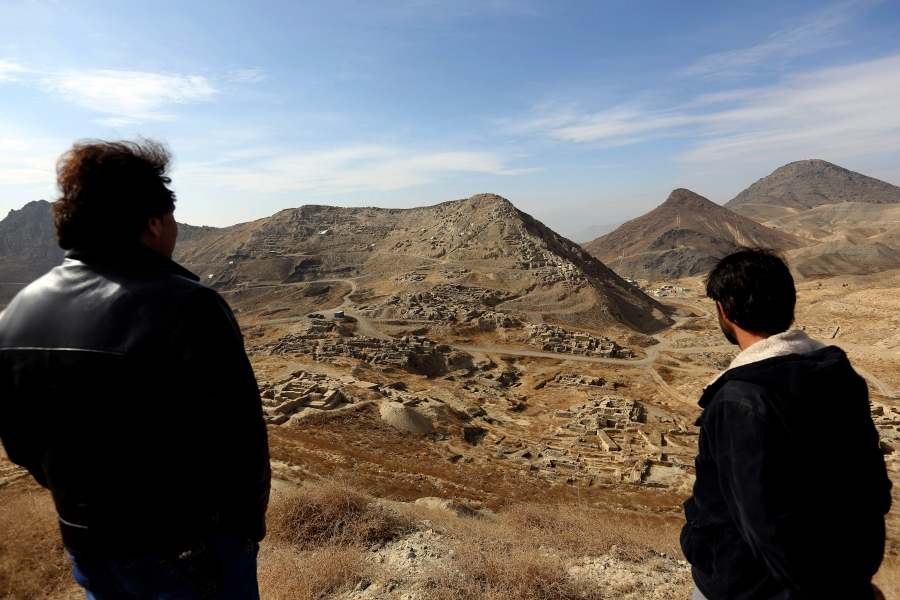 A massive, untouched wealth of minerals, including lithium and copper, is hiding in Afghanistan.