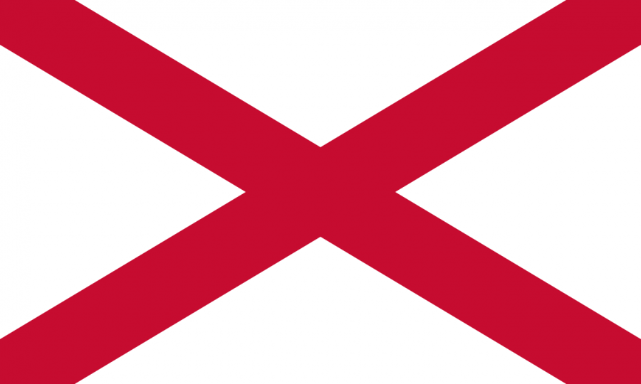 St. Patrick's cross of Northern Ireland
