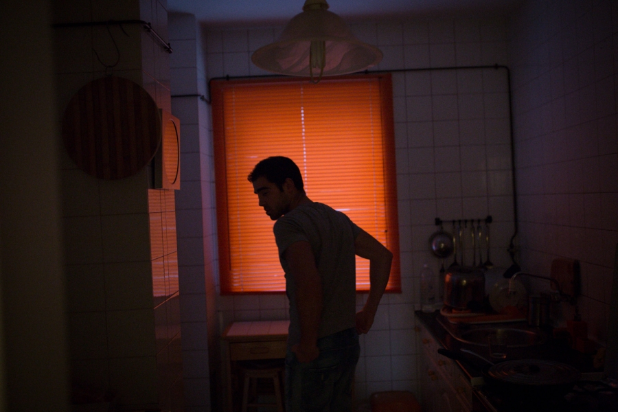 Borja Bernardez, 27, had a good job before Spain's economy collapsed. He's pictured at his home in Ferrol, Spain.