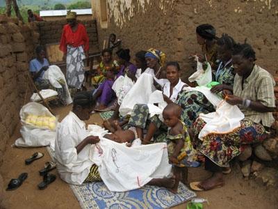 Kamanyola sewing group.
