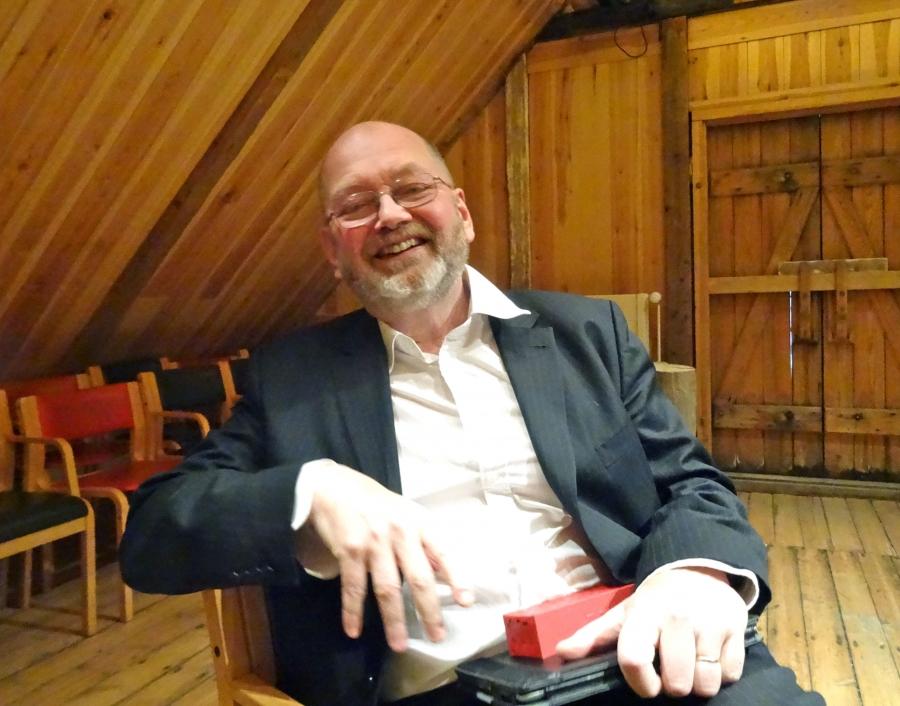 "Kjartan Ragnarsson, who runs the Settlement Center, says Icelandic ""is like music to us."""