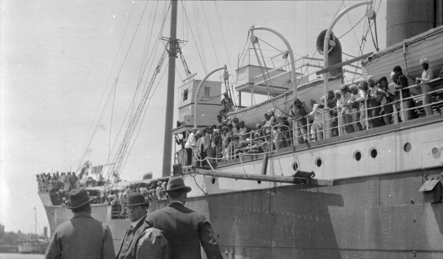 Canadian officials and the Komagata Maru