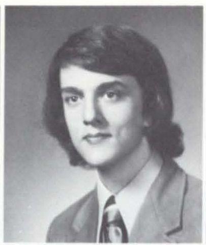 Kurt Andersen as a high school senior