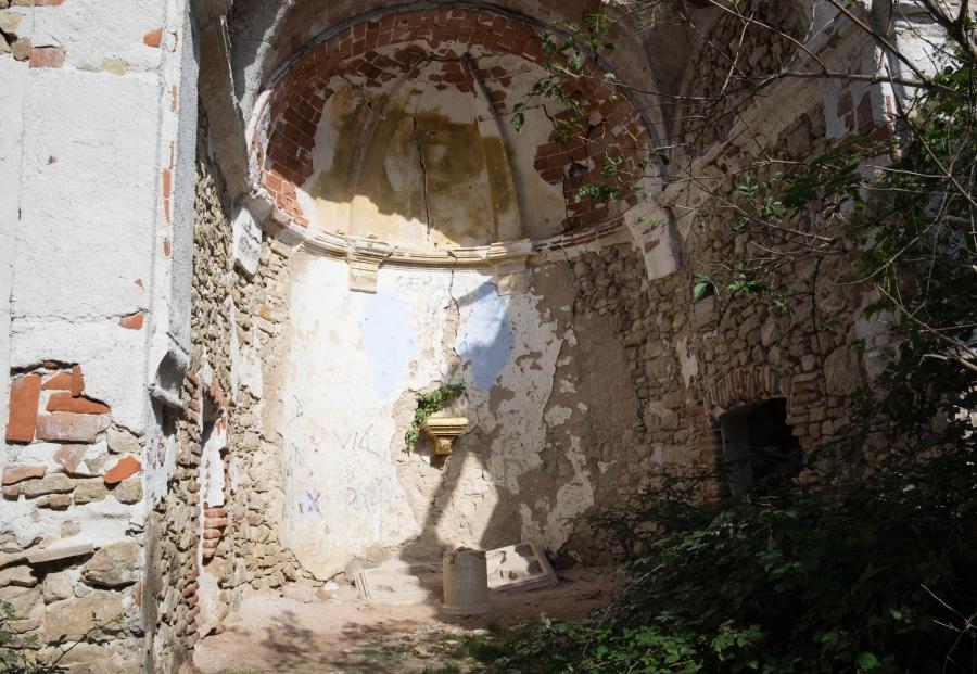 The church at La Mussara
