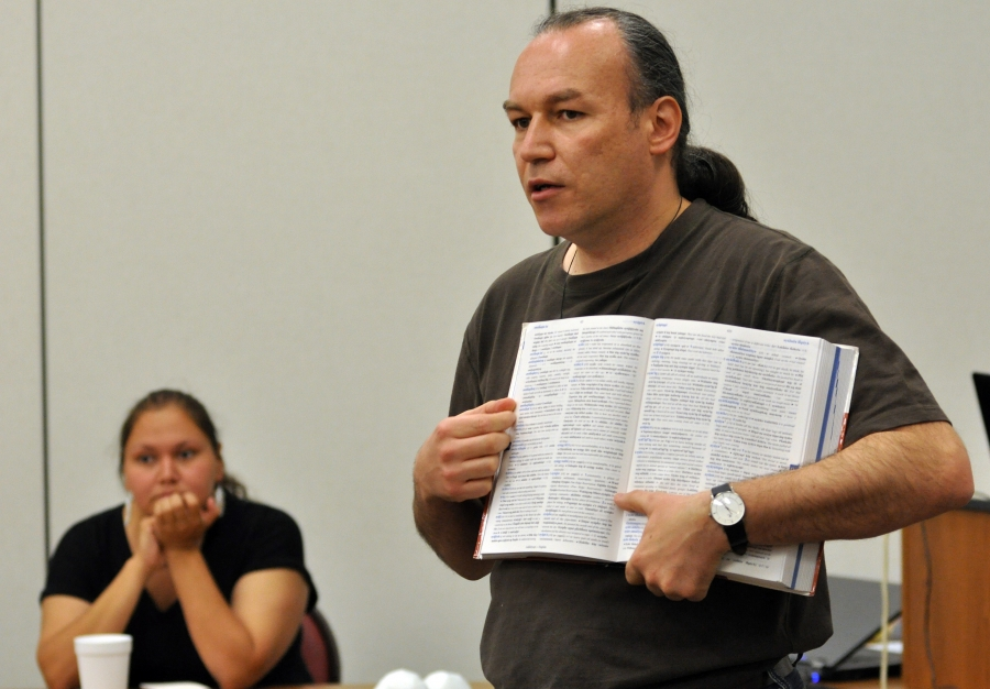 Czech linguist Jan Ullrich works closely with the Lakota to reform and revive their language.