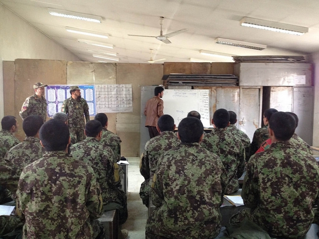 Literacy instruction at Darulaman Literacy Center. The military has no idea if this training worked.