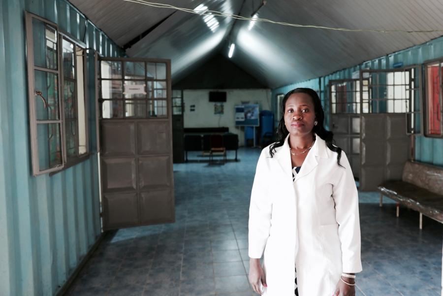 Melvine Ouyo, Clinic Director at Family Health Options Kenya