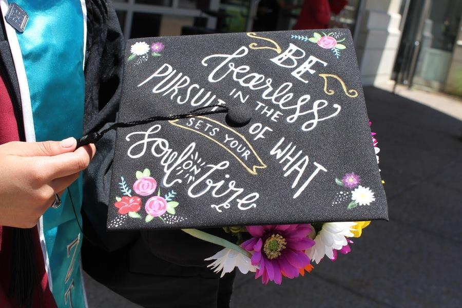 Hernandez graduation cap
