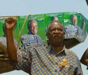Zambia President Michael Sata. (Photo: BBC)