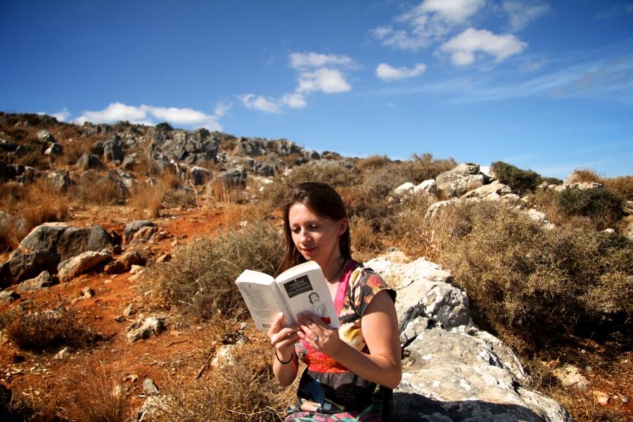 Ann Morgan reading