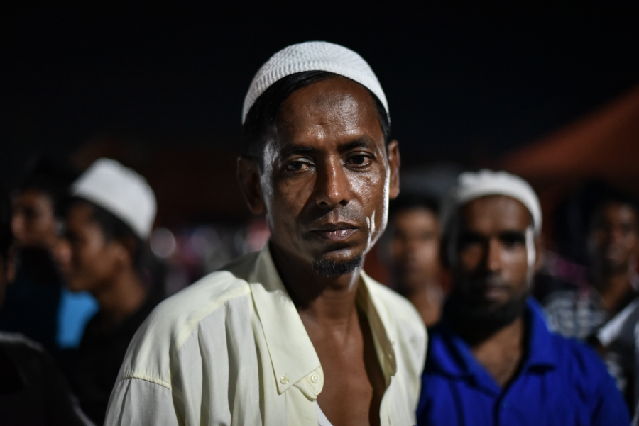 Sahi Dullah is a Rohingya refugee living in a camp in Bayeun, East Aceh, Indonesia. He was a shopkeeper back in Myanmar before he journeyed by boat with other Rohingya and Bangladeshi with Malaysia as their destination.