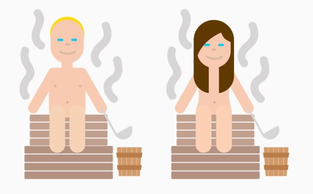 The 'sauna' feeling. Sauna is a holy place for Finns.