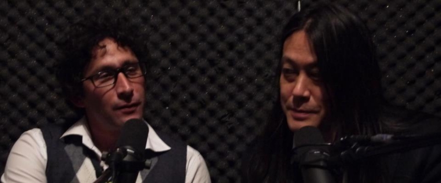 Jeremy Goldkorn (left) and Kaiser Kuo