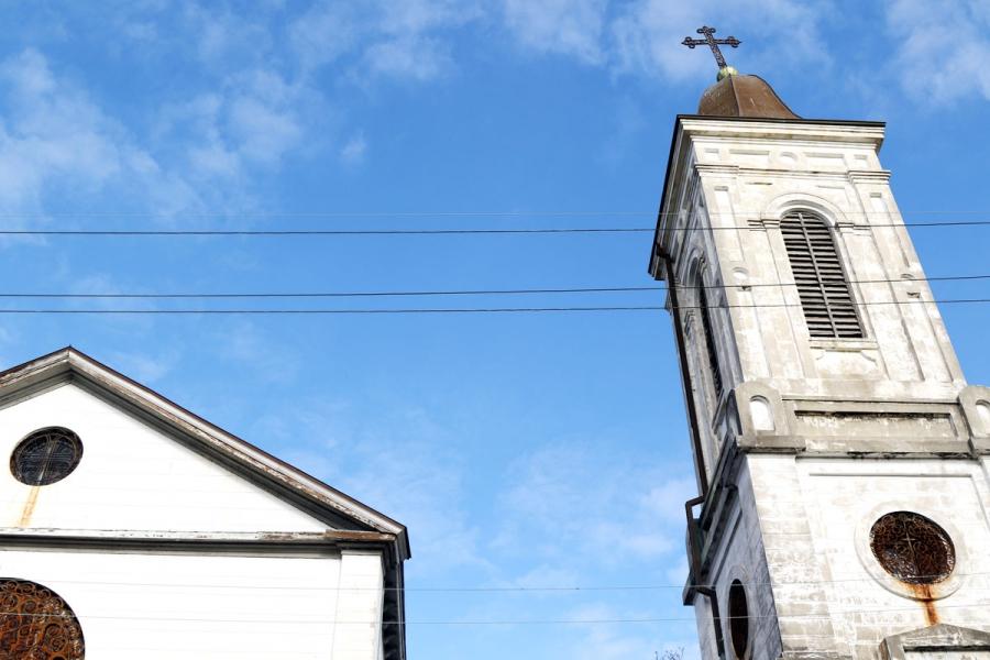 St. Augustine church, the oldest black Catholic parish in the US.