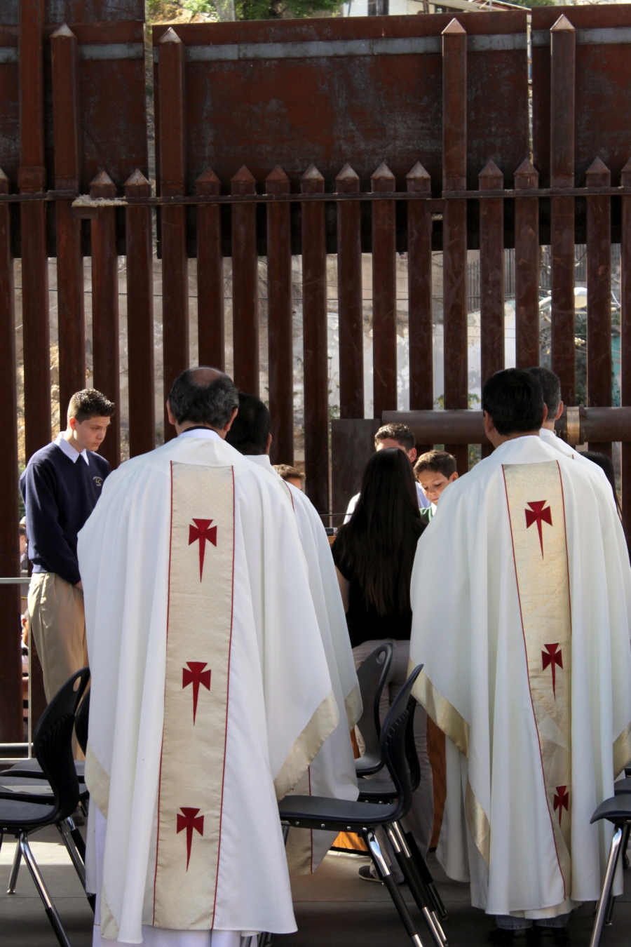 Bishops from El Paso Texas to Seattle Washington attended the mass in Nogales.