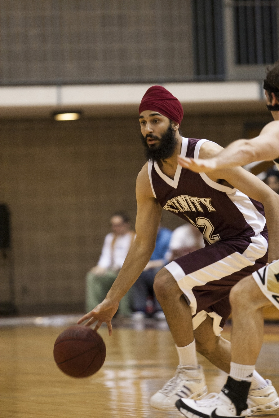 Darsh Preet Singh played for Trinity University in San Antonio Texas. He went on to become the team's co-captain.