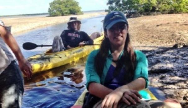 Venezuelan environmental activist in Miami Dade County from Sagastume story