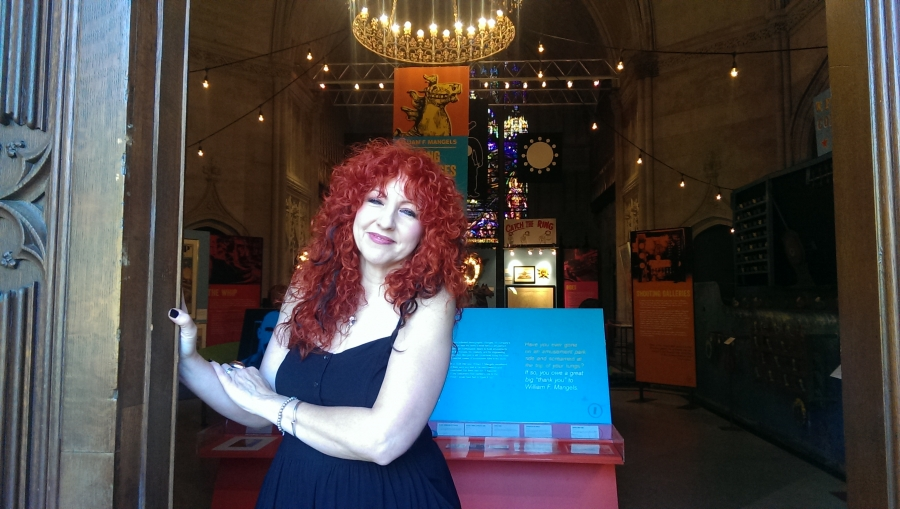 Lisa Mangels, great-granddaughter of William F. Mangels, the King of Coney Island.