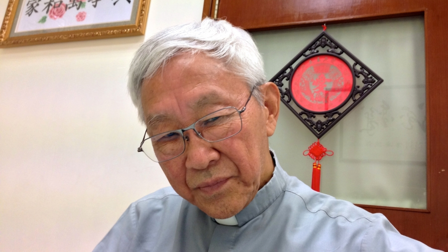 Cardinal Joseph Zen, former head of the Catholic Church in Hong Kong, is a long-time critic of the Chinese Communist Party. He's also been an active supporter of the pro-democracy campaign.