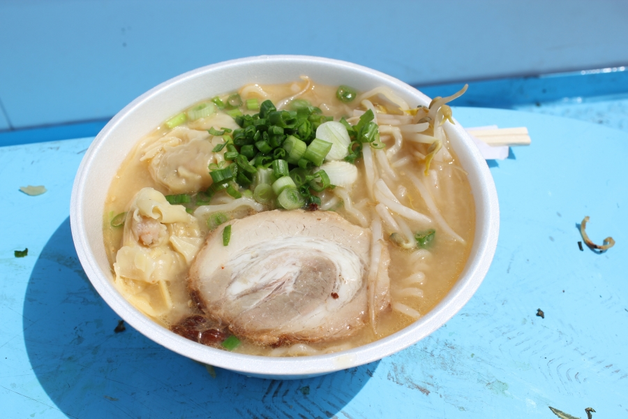 Ramen from the popular Tsujita Tokyo booth at a recent festival in Los Angeles devoted solely to the food.
