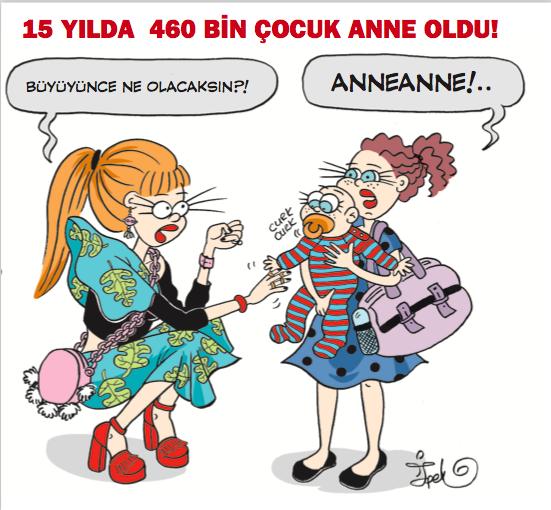 Turkish cartoon exposes gender discrimination