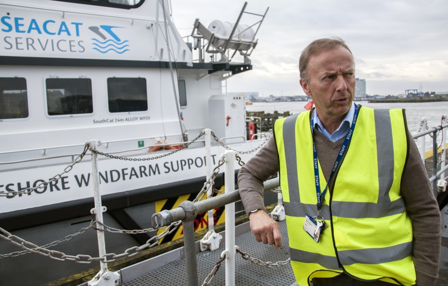 """""""It sounded a load of rubbish"""" is how Grimsby port chief Martin Boyers remembers reacting to a plan to create a maintenance hub for new offshore wind farms in the depressed city. """"I didn't know anything about renewables."""""""