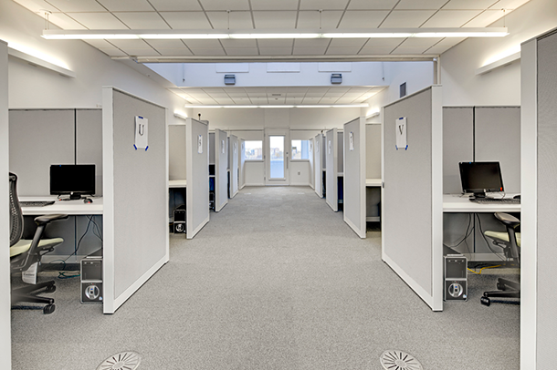 Air quality simulated office