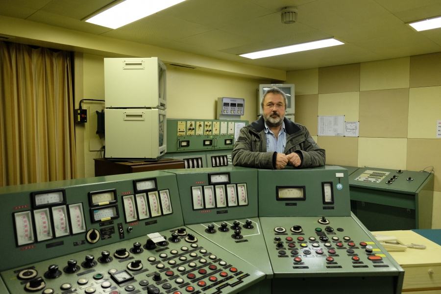 Jörg Möller, an engineer at a defunct nuclear power plant in Germany