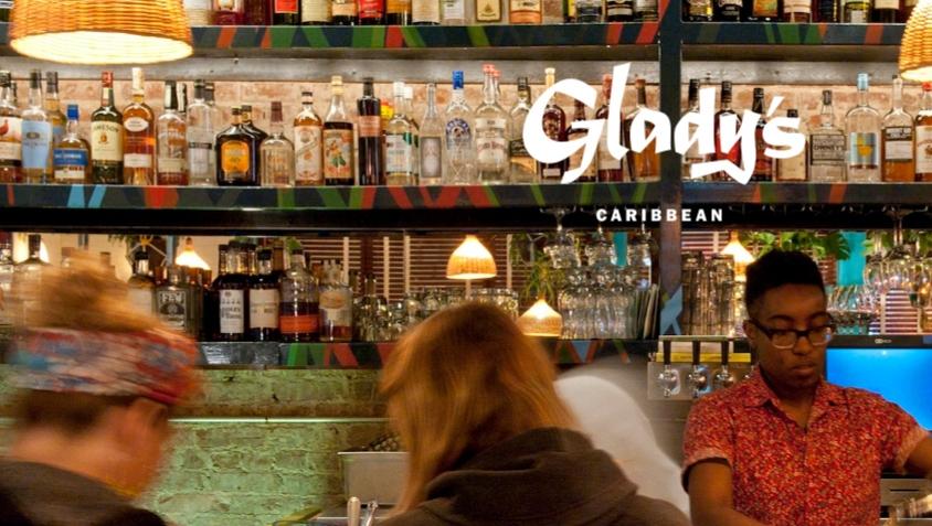 Glady's in Brooklyn.
