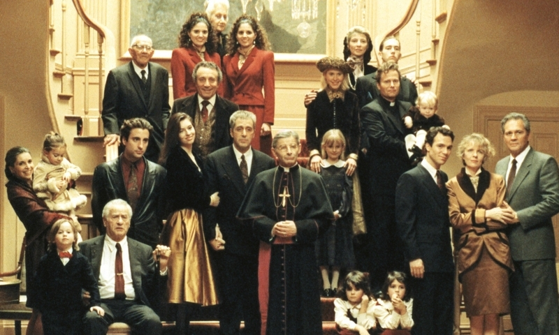 "The family portrait in ""The Godfather: Part III"""