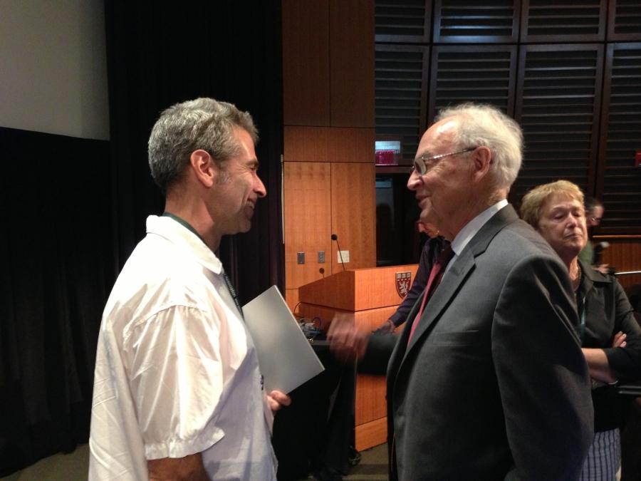 Marco Werman and Harris Wofford