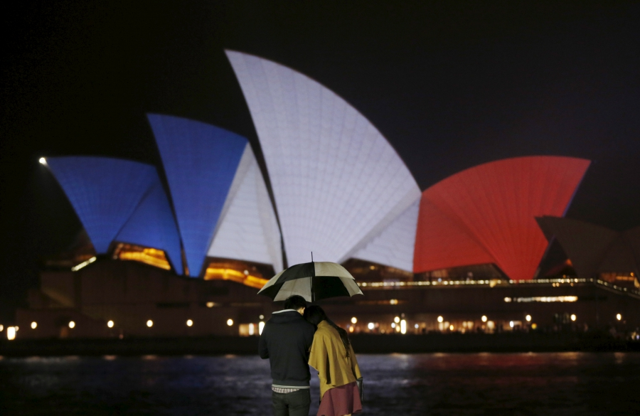 Paris Attacks: Sydney's Opera House