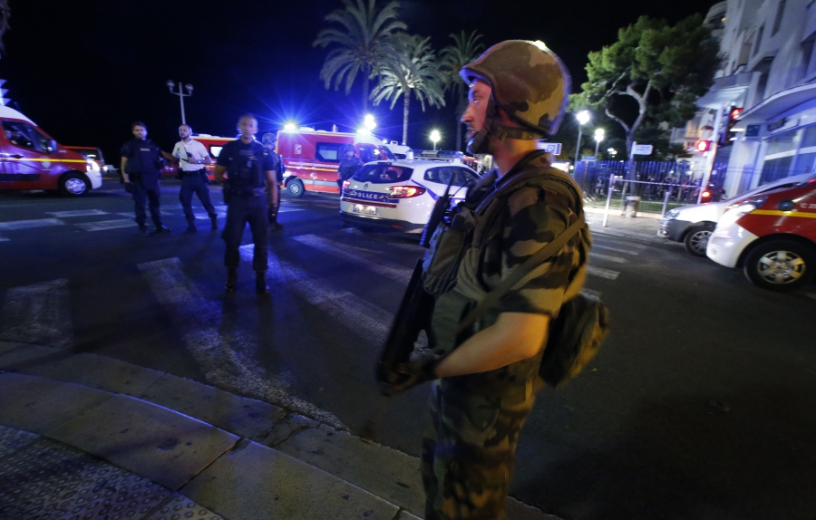 Attack in French city of Nice