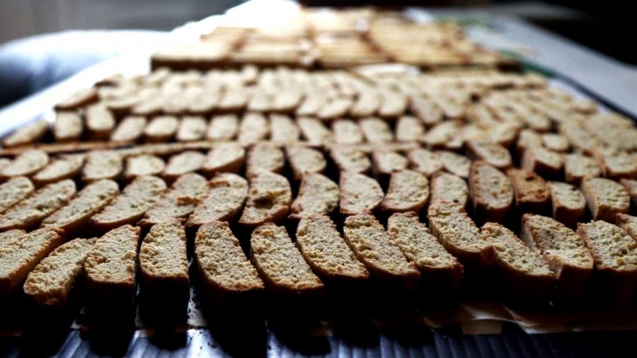 cucidatti — traditional Italian cookies.