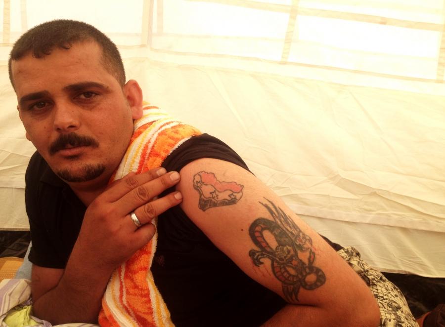 Iraqi military deserter