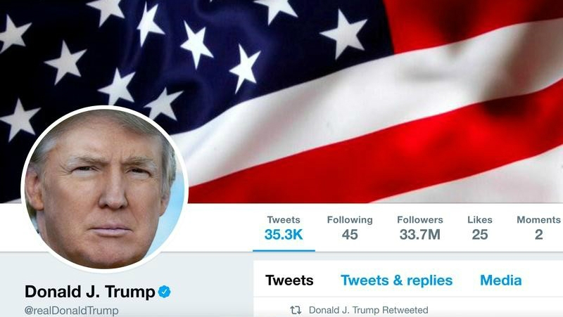 President Donald Trump's Twitter account is here to stay.