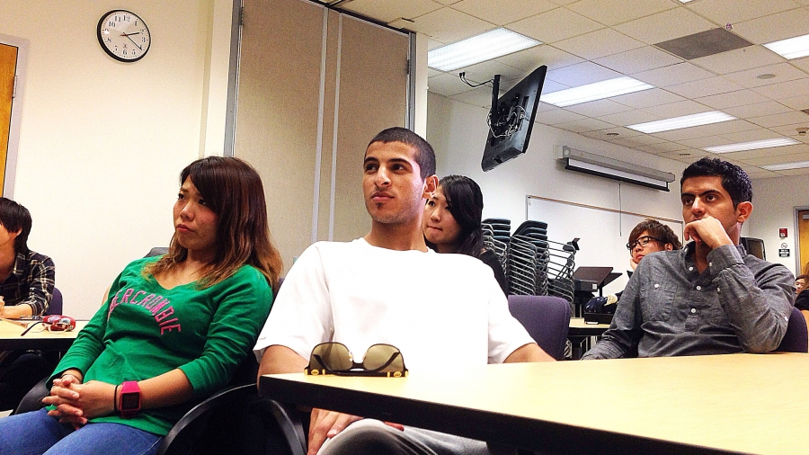 ESL students at UCLA's Extension School
