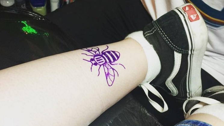 Many of those getting inked have never had a tattoo before.
