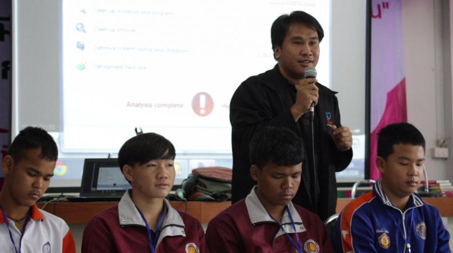 "Sirimongkhoi 'Tok' Chankhao started his ""STOP MOM"" program to try to improve sex education in schools in and around Chiang Mai."