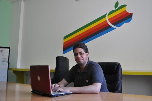 Mohammed AbuHaiba, 24, developer of TebCare