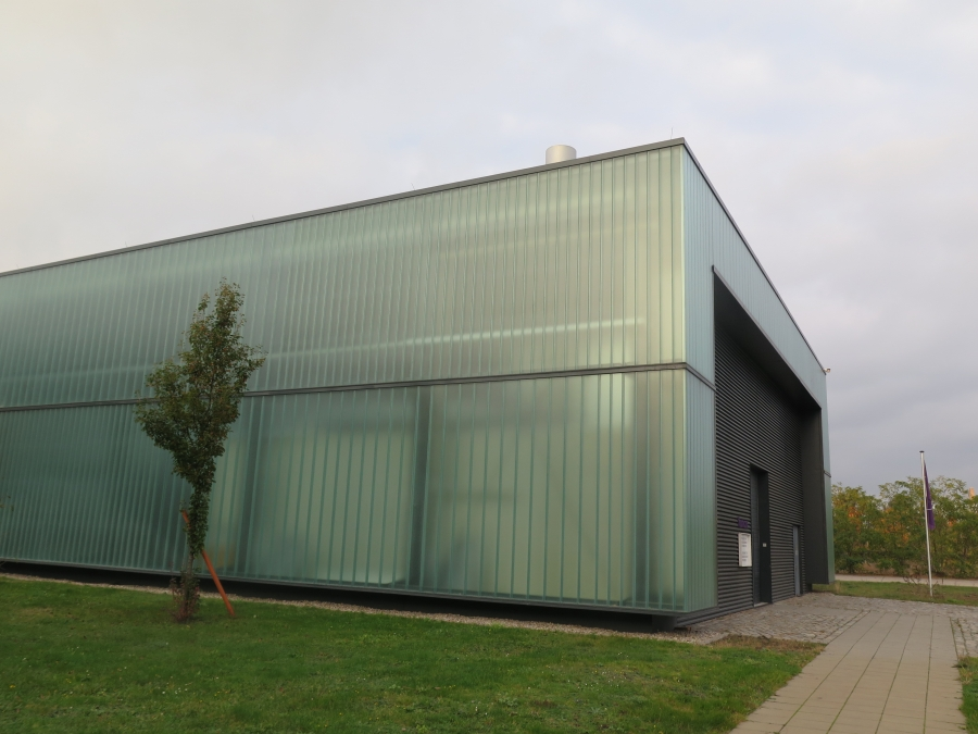 Younicos's technology center in Berlin houses vast arrays of batteries and a small diesel generator, which allows it to simulate the properties of a small electricity grid. The company recently opened Europe's largest battery power plant in the city of Sc