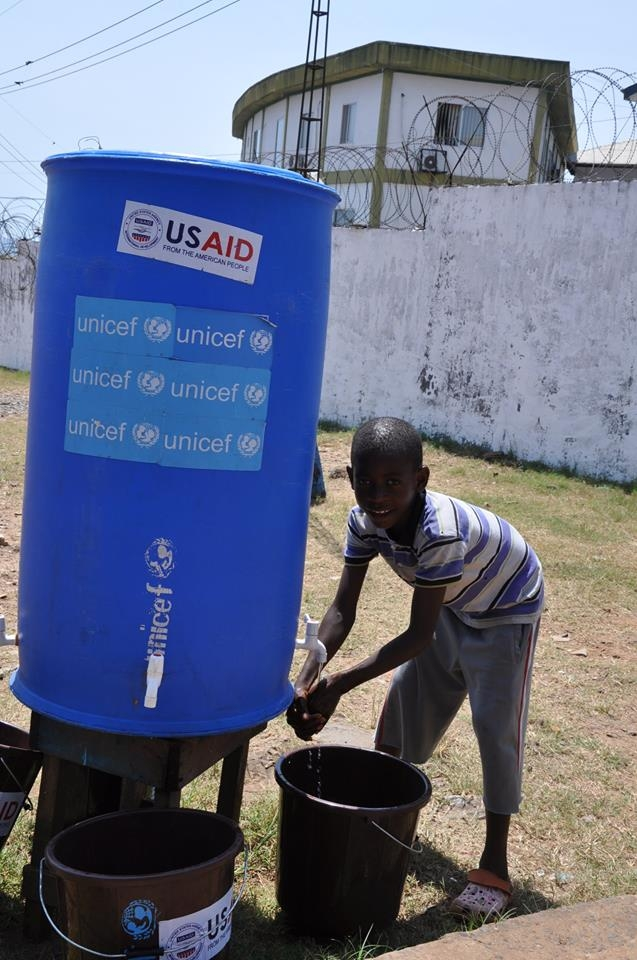 Handwashing is now required as part of safe school precautions being taken to prevent Ebola.