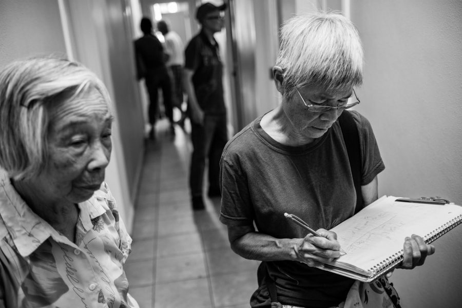 Phyllis Chiu assists tenants facing eviction in Los Angeles