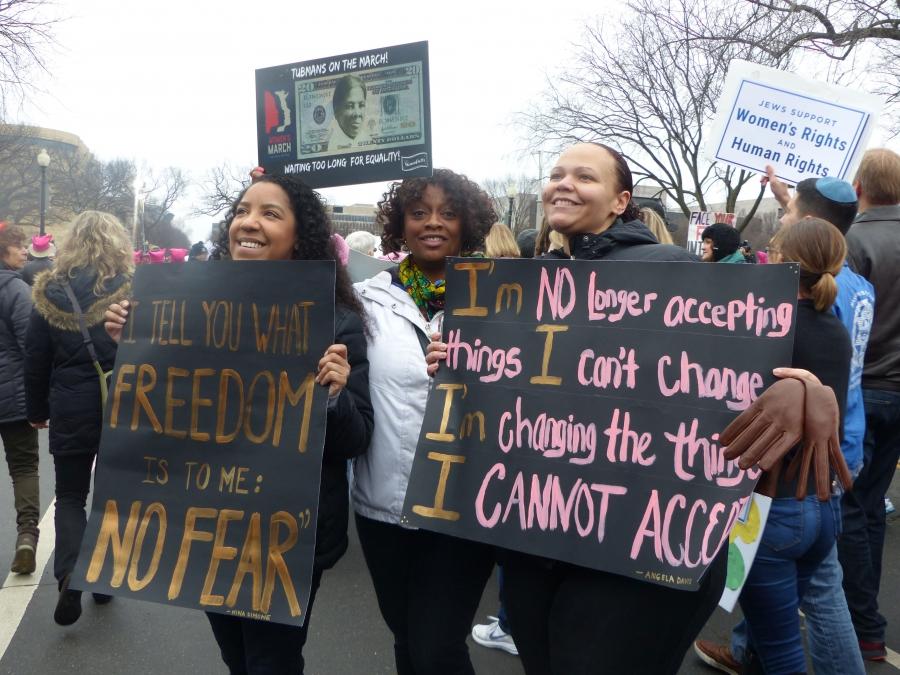 news savannah women make their voices heard washington