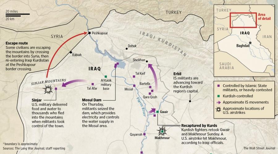Movement in northern Iraq
