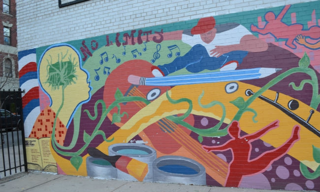 How to make public schools serve poor students public for Education mural