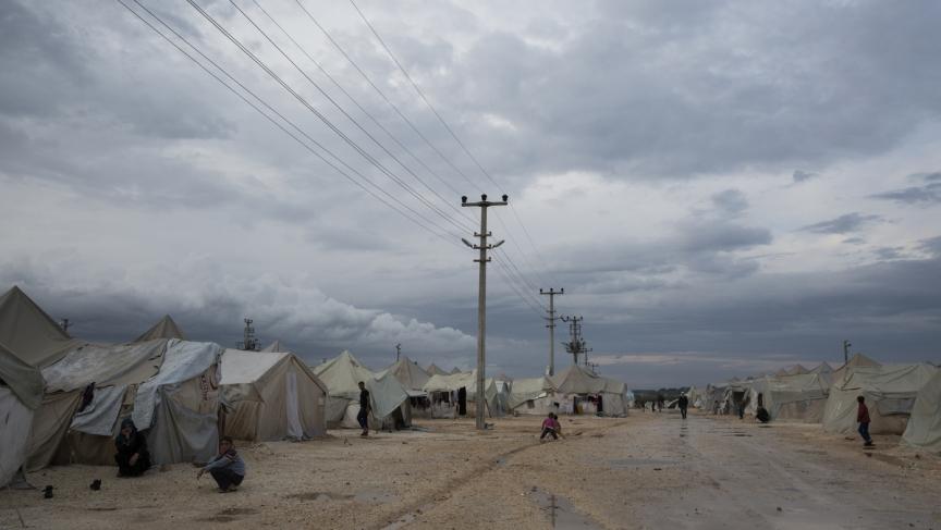 The Suleyman Shah camp