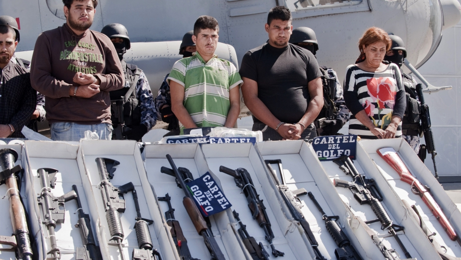 Mexican marines claim capture of Gulf Cartel leader Jorge