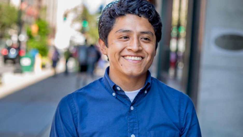Oliver Merino is a museum educator and an activist for the rights of Dreamers — people brought to this country at a young age, without documents.