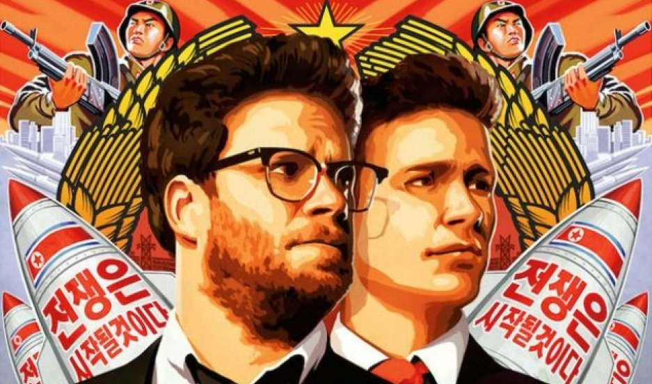 The Interview promotional poster